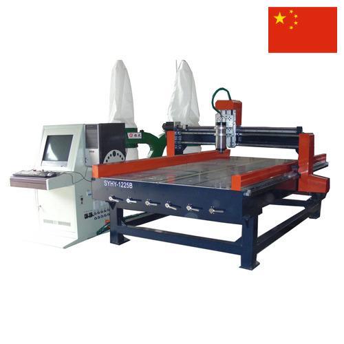 Оборудование деревообрабатывающее из Китая