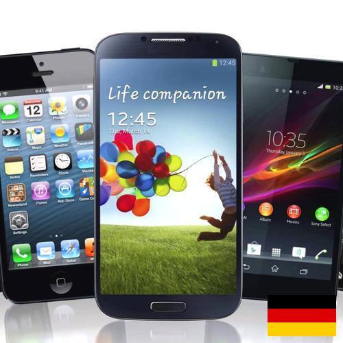 сотовых телефонов из Германии