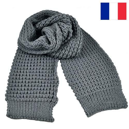 трикотажные шарфы из Франции