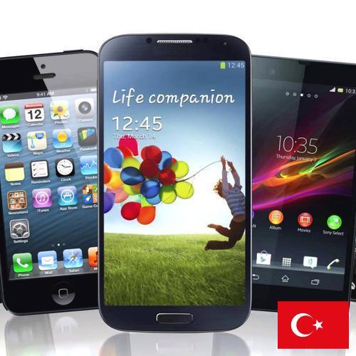 сотовых телефонов из Турции